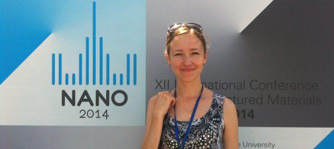 Доклад аспирантки МИЭТа признан одним из лучших на Международной конференции NANO 2014