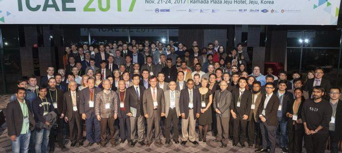 Поздравляем наших коллег c наградой на конференции ICAE-2017